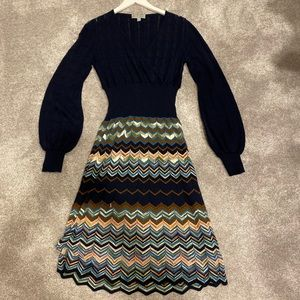 Missoni Knit V-Neck Dress
